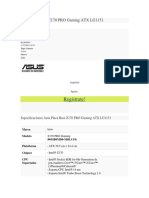 Asus Placa Base Z170 PRO Gaming ATX LG1151.docx