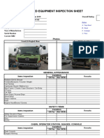 inspection sheet dt