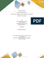 Trabajo colaborativo Paso 2 investigación en ciencias sociales