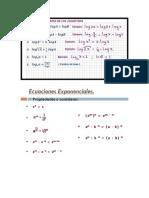 propiedades logaritmicas y exponenciales