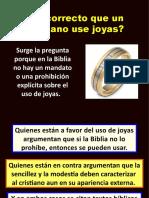 ¿ES CORRECTO USAR JOYAS..pptx