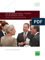 Committee Encouraging Corporate Philanthropy 2010-2011 Membership Roster