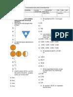 nivelacion sexto matematicas