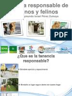 Manual de Tenencia responsable de caninos y felinos