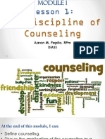 Lesson 1-The Discipline of Counseling.pptx