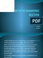 Growth in Banking Sector Ppt