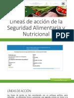 Líneas de acción de la Seguridad Alimentaria y nutricional GINA.pptx