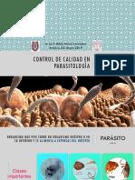 Control de Calidad Parasitología