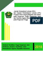Standar Kompetensi Lulusan (SKL) dan Capaian Pembelajaran Lulusan (CPL) Program Studi Jenjang Magister dan Doktor pada Perguruan Tinggi Keagamaan Islam dan Fakultas Agama Islam (FAI) pada Perguruan Tinggi
