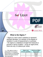 1 Hour Sigma Lean .ppt
