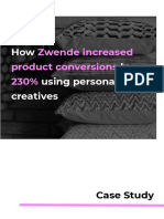 How visual creatives in ecommerce change conversion rates & boost revenue.