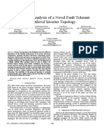 Reliability Analysis of a Novel Fault Tolerant Inverter Topology