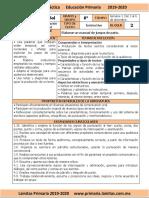 Diciembre - 6to Grado Español (2019-2020).docx