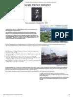 Biografía de Ernest Rutherford - modelo Rutherford del átomo