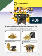 Quad Close Stink Stopper - Flyer