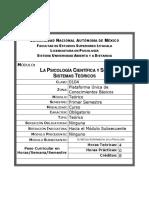 0104 - La Psicología Científica y sus Sistemas Teóricos