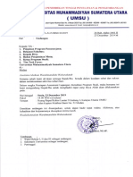 Undangan Persiapan Asesment Lapangan Akreditasi Prodi 23 Des 2019 Ling UMSU