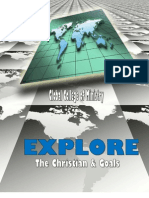 The Christian and Goals Mini Course 2010