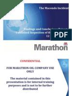 Marathon Macondo Study