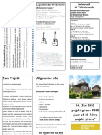 Infoblatt Projekt 2020