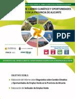Fundación Caja Mediterráneo. Presentación. Observatorio Empleo Verde