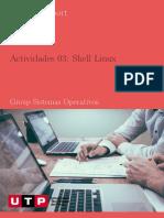 SISTEMAS_OPERATIVOS. Actividades Shell Linux