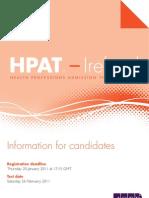 HPAT Ireland 2011 Brochure Updated