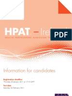 HPAT Ireland 2011 Brochure Updated