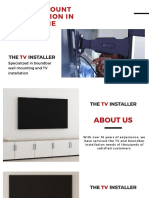 TV Wall Mount Installation in Melbourne