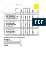 Ejercicio 2 de Excel