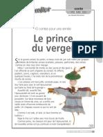 Le prince du Verger