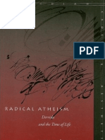Radical Atheism - Derrida and the Time of Life - Martin Hägglund