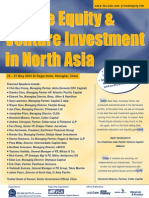 Private Equity & Venture Investment in North Asia