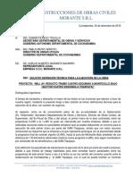 CARTA PERJUICIO DE PRIMER TRAMO