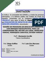 Avisos Defensa Magister Olga Uribe