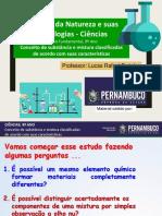 Conceito de Substancias e Misturas Classificando de Acordo Com Suas Características
