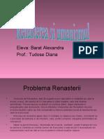 0renastereasiumanismul