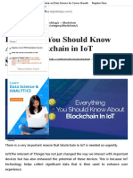 Everything You Should Know About Blockchain in IoT