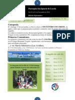 Boletín N° 78, del 22 al 28 de Noviembre de 2010