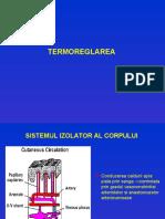 Termoreglarea Curs an i Medicina 2007