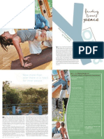 Yoga Finding Your Peace