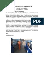INFORME ACCIDENTE 29-30-2018 - T7K-810