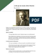 6 lecciones de la vida que me enseño Albert Einstein.