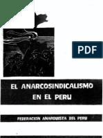 El Anarcosindicalismo en El Peru
