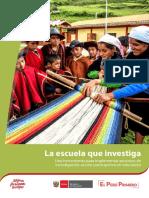 La Investigacion en La Escuela FONDEP Ccesa007