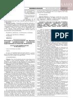 Resolución Administrativa N° 064-2020-CE-PJ