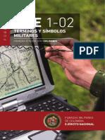 MFE 1-02 TERMINOS Y SIMBOLOS MILITARES 2020