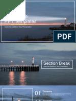 Lighthouse Landscape PowerPoint Templates.pptx