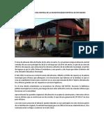 DIAGNOSTICO ALMACEN CENTRAL DE LA MUNICIPALIDAD DISTRITAL DE RIO NEGRO