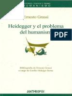 Grassi, Ernesto. - Heidegger y el problema del humanismo [2006]